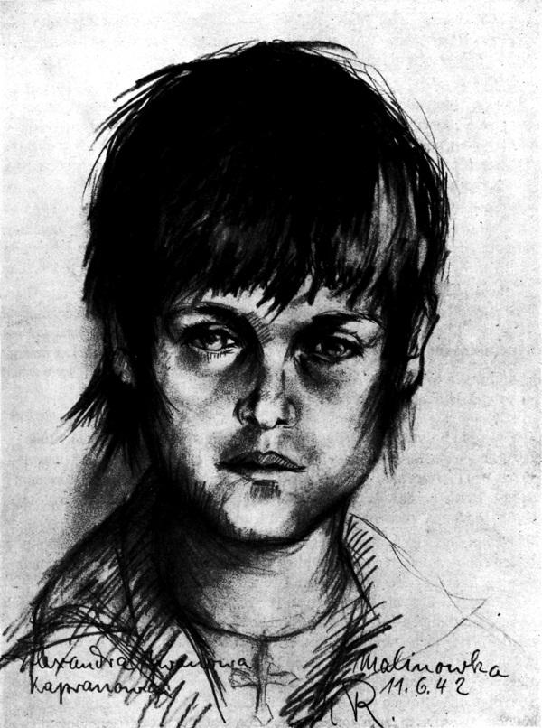 <b>Kurt Reuber</b>- Alexandra Iwanowna Kapranowa (1942) - bg89204